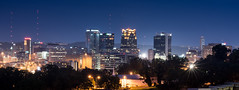 Birmingham Alabama (Mark Wingfield) Tags: birmingham alabama roof top skyline city light lowlight tripod sky night nikon d610 dark cityscape outdoors outside long exposure evening lights caraway 85mm 85mm14 14 nikor