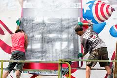 Budweiser (Always Hand Paint) Tags: b198 budsummer budsummerprogress kristamlindahl ooh outdoor colossalmedia alwayshandpaint skyhighmurals advertising colossal handpaint mural muraladvertising progress budweiser budweiserprogress streetlevel beer alcohol