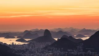 Olympic sunrise @Vista Chinesa, Rio de Janeiro, Brazil