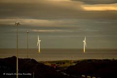 Old and new energy (Askjell's Photo) Tags: blyth england gb northumberland uk coal windturbine windmill windpower askjell
