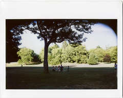 20160807_67988 (AWelsh) Tags: outdoor park webster ny forest woods house church fellowship ekklesia christian christians rochester andrewwelsh mamiya universal press mup 10028 fuji instax instant polaroid film belair back mod modded epson v700 scan