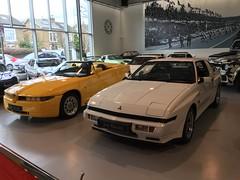 1989 Mitsubishi Starion EX Turbo Widebody & 1996 Alfa Romeo RZ Roadster Zagato 3Litre V6 (mangopulp2008) Tags: london macari joe widebody turbo ex starion mitsubishi 1989 joemacari 1996 alfa romeo rz roadster zagato 3litre v6