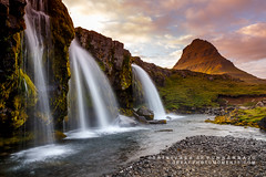 Church Mountain Falls (rkpunnamraju) Tags: waterfalls stream lake summer bluehour goldenhour clouds greenary mountain landscape sunset iceland waterfall kirkjufellmountain kirkjufellfoss outdoor water serene travel mist