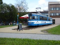 Pentograf Cafe (mjaniec) Tags: tramwaj tram krakw cracow