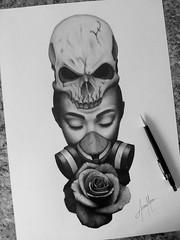 tattoo (Alisson Mattos) Tags: realismo realista desenho sketch tattoo ilustrao illustration tatuagem draw drawing
