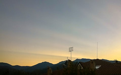 Rays in the sky (nanison) Tags: tramonto sunset sky giaveno valsangone italia italy raggi luce light rays