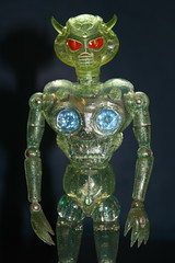 Invader O (Takara 1970's) (Donald Deveau) Tags: invadero henshincyborg takara toys vintagetoy sciencefiction alien actionfigure japanesetoy