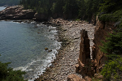 Acadia Rocky Shoreline (Smileytcs) Tags: maine beach water nature national park sea summer acadia specland