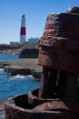 Portland Bill 3 (redladyofark) Tags: portlandbill lighthouse portland dorset sea nautical ship anchor chain winch shackle chandlery