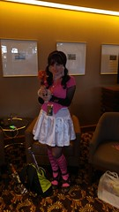 Toralei's Totes Clawesome Adventure at Summer Sac Anime 2016 (sally_felina) Tags: toralei doll draculara cosplay cosplayer vampire monster monsters ghoul ghouls female werecat monsterhigh sheraton sacramento downtown california