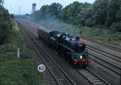 76084 Empty coaching stock (teesside photographer) Tags: steamtrain 260 76084 5z76