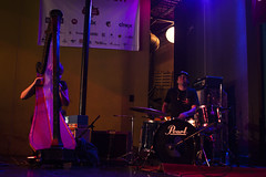 Mary Lattimore & Kid Millions (patrick_wall_blurt) Tags: hopscotch 2016