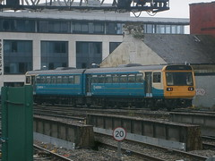 142082 @ Cardiff Central (ianjpoole) Tags: arriva trains wales 142082 working 2a28 cardiff central aberdare