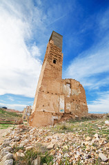 Belchite 7 (davidherraezcalzada) Tags: belchite destruction demolished ancient abandoned ruin war spain town battle village facade destroyed history outdoor bombing outside building aragon civil historic combat travel desolate landmark broken spanish house disaster saragossa church aged zaragoza city urban ghost horror forgotten military brick antique damage ghosttown bombed architecture conflict arch