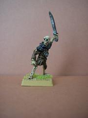 Classic Citadel skeleton miniature (Entslow) Tags: wargames wargaming warhammer oldhammer citadel gamesworkshop skeleton undead