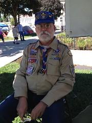 Scouter (JeromeG111) Tags: iphone4s saintjoseph stjoseph missouri ponyexpresscouncil boyscoutsofamerica boyscouts centennial portrait uniform