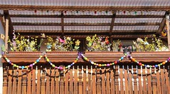 Easter (:Linda:) Tags: germany easter town balcony decoration garland thuringia flowerbox easterdecoration themar woodenbalcony franconianporch