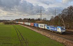 193 840 BoxXpress (vsoe) Tags: railroad train germany engine eisenbahn railway bahn freighttrain züge niedersachsen güterzug vectron langwedel boxxpress güterzugstrecke