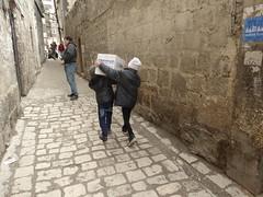 Taking food provsions homes (Ummah Welfare Trust) Tags: poverty winter children war refugee islam arabic east relief hunger arab middle shaam humanitarian aleppo displaced humanitarianism ummah idlib