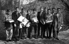Geography field trip (Miocene) Tags: school ebay group 1960s geography ilford 1963