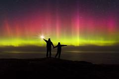 An Gealain Thuaidh (Ronan.McLaughlin) Tags: ocean nikon atlantic tokina astrophotography donegal northernlights auroraborealis malinhead inishowen theskyatnight tokina1116mm ronanmclaughlin nikond7100