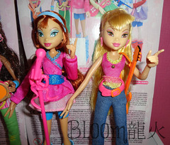 Bloom & Stella Concert by Mattel (Bloom龍火) Tags: new stella concert dolls collection bloom layla musa mattel winxclub