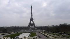 Desde lo alto de Trocadero (vcastelo) Tags: france torre tour eiffel trocadero francia pars palacio chaillot