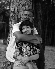 Shankar & Usha (S a b i r) Tags: bangalore hasselblad modelling cubbonpark sabir 8028
