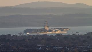 USS Theodore Roosevelt CVN-71 aircraft carrier