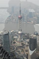 DSC_0153-8 (tamas.doczi) Tags: china skyline nikon skyscrapers shanghai fisheye    pudongskyline   theopener wordfinancialcentershanghai