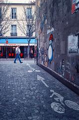 Dans Quel Monde ? (Pixelicus) Tags: street streetart paris art fuji 13 rue 13me xiii x100 xiiime