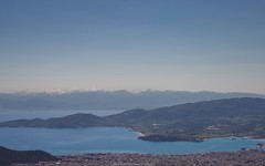 ?Spring or Winter? (kostas_volos) Tags: sea snow mountains landscape photography view greece waterscape 2015 volos magnesia