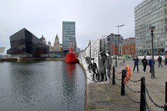 Canning Dock 1920s in 2015 (Keithjones84) Tags: liverpool dock mersey albertdock thenandnow merseyside canningdock oldliverpool