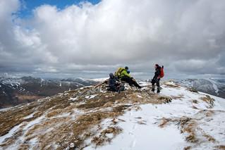 South Glen Shiel Ridge: Sgurr an Lochain Summit Group