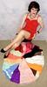 DSC05357 (msdaphnethos) Tags: red tv pumps cd tgirl transgender transvestite heels brunette crossdresser nylon slips halfslips daphnethomas