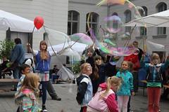 Seifenblasenfabrik Bubblebo Seifenblasenshow beim Tag der offenen Tür im Bundesministerium für Landwirtschaft 20