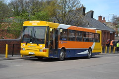 Stagecoach Volvo B10M-55 20605 L425TJK - Wigan (dwb transport photos) Tags: volvo stagecoach wigan paladin 20605 northerncounties drivertrainingvehicle l425tjk