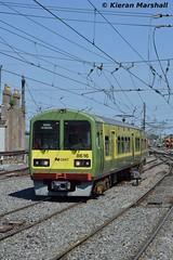 8616+8615+8635+8636 arrive at Connolly, 19/7/16 (hurricanemk1c) Tags: dublin irish train rail railway trains railways dart irishrail 2016 connolly iarnrd 8616 ireann iarnrdireann tokyucarcorp class8510 1330malahidegreystones