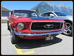 Ford Mustang Fastback, 1967 (v8dub) Tags: ford mustang fastback 1967 schweiz suisse switzerland american muscle pkw pony voiture car wagen worldcars auto automobile automotive old oldtimer oldcar klassik classic collector
