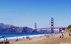 Golden Gate Bridge (carmemnrc) Tags: sanfrancisco beach bakerybeach goldengate goldengatebridge bridge california