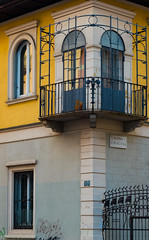 Via Curtatone, Via Privata Siracusa, Milan (simy_sun) Tags: milan italy streetphotography street architecture architectural window windows colors coloring colorful