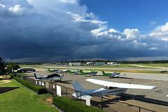 Afternoon Showers (redhorse5.0) Tags: clouds airport flying aviation dekalbpeachtreeairport chambleegeorgia redhorse50 sonya850 airplanes stormclouds rain darkclouds priv privateaircraft
