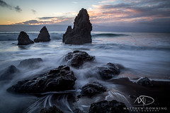 Rodeo Beach 2 (www.matthewdowningphotography.com) Tags: sf sanfrancisco california longexposure sunset usa sun beach water america bay rocks waves unitedstates rodeo sanfran westcoast goldenhour rodeobeach