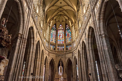 St. Vitus Cathedral - interior (Grzesiek.) Tags: stvituscathedral katedraśwwita architektura praga praha prague katedra