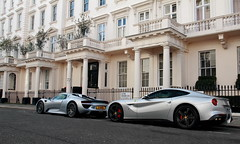 Silver crew (D.N. Photography) Tags: porsche 918 spyder ferrari f12 berlinetta f12berlinetta london automotive auto automobile automobiles vehicle vehicles transportation eos exotic exotics england united uk kingdom 7d canon cars car combo luxurycar luxury luxurycars supercars supercar eaton square wow