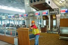 T3U CHECK-IN AREA (8) (MYW_2507) Tags: checkin airport cgk jakarta soetta soekarnohatta t3u terminal3 expansion shia