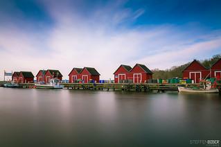 Die Fischerhütten von Boltenhagen