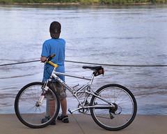 River Dreams (LarryHB) Tags: bike river mississippi flow 2010