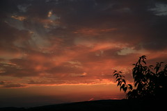 End of a hot day....... (Blue Pelican) Tags: sunset glossop derbyshire sky clouds july