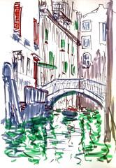 1598_2 ( ) Tags: 365      edding brushpen urban sketches landscape zigartgraphictwin